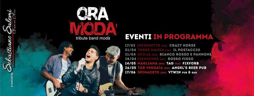 Cover Facebook Band OraModà