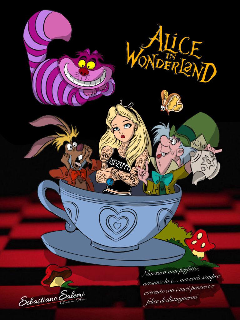 Disegno Alice